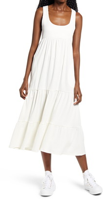 Free People Reel Love Tiered Midi Dress
