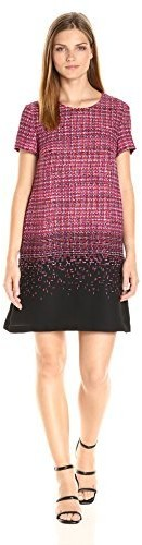CeCe by Cynthia Steffe Womens Olivia Sleeveless Tiered Scallop Lace Dress