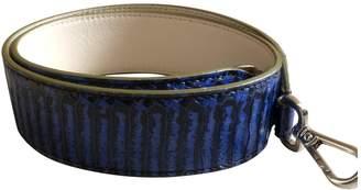 Fendi \N Blue Python Purses, wallets & cases