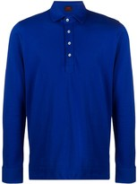 Piombo Mp Massimo long-sleeve polo shirt