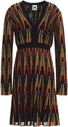 M Missoni Flared Crochet-knit Dress