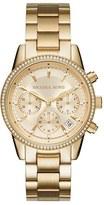 MICHAEL Michael Kors Women's Ritz Chronograph Bracelet Watch, 37Mm
