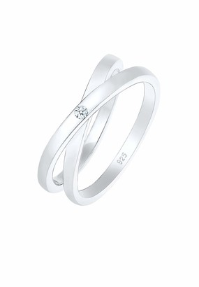 Diamore Women Silver Wrapped Anniversary Ring - 0607682417_54