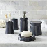 Crate & Barrel Forma Soapstone Bath Accessories