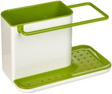 Joseph Joseph Sink Caddy, Kitchen Soap and Sponge Holder, White and Green