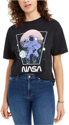 Love Tribe Juniors' Cotton Nasa Graphic T-Shirt