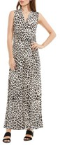 Vince Camuto Women's Leopard Print Maxi Dress