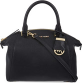 MICHAEL Michael Kors Riley small leather satchel