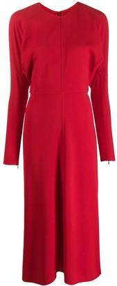 Victoria Beckham Dolman Sleeve Midi Dress