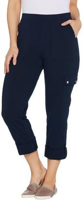 Susan Graver Premium Stretch Crop Pants