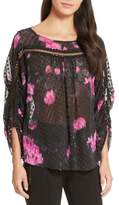 Tracy Reese Women's Floral Silk Blouse