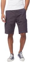 Red Herring Dark Grey Cargo Shorts