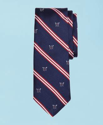 Brooks Brothers 2019 Head Of The Charles Regatta Mini BB#1 Stripe Slim Tie