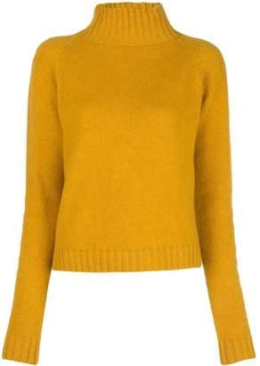 The Elder Statesman cashmere roll neck jumper