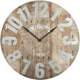 Pier 1 Imports Oversize Aged Rustic Wall Clock