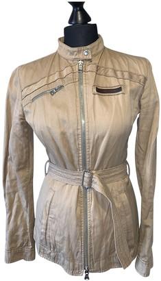 Prada Beige Cotton Jacket for Women Vintage