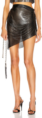 Fannie Schiavoni Ciara Skirt in Black | FWRD