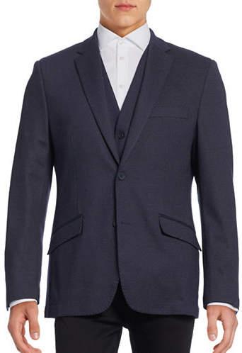 Horst Modern-Fit Pindot Sports Jacket