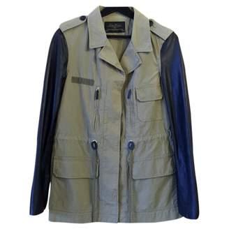 N. Zara \N Khaki Leather Jackets