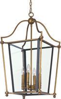 One Kings Lane Ritz 4-Light Pendant, Brass