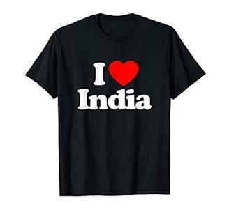 I Love India Heart Souvenir Funny T-Shirt
