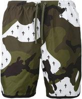 Neil Barrett camo swim shorts - men - Polyester - M