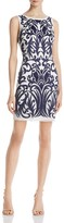 Aidan Mattox Embellished Sleeveless Sheath Dress