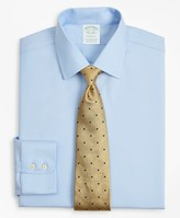 Brooks Brothers Stretch Milano Slim-Fit Dress Shirt, Non-Iron Twill Ainsley Collar