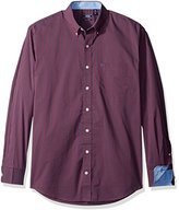 Izod Men's Big and Tall Long Sleeve Advantage Performance Non Iron Stretch Shirt