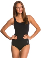 TYR Solid Scoop Neck Controlfit 7534568