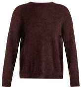 Masscob Round-neck mohair-blend sweater