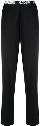 Moschino Logo Waistband Lounge Trousers