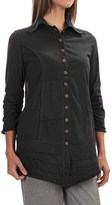 Neon Buddha Artisan Shirt - 3/4 Sleeve (For Women)