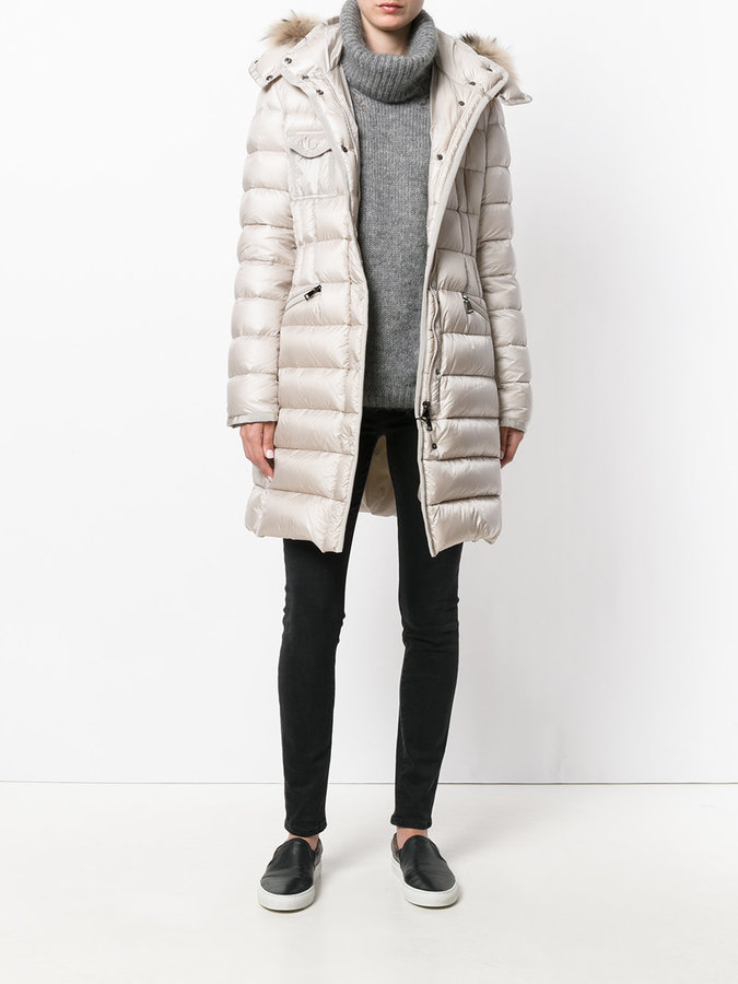 Moncler Hermifur padded coat