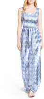 Vineyard Vines Women's Painted Stripe Cotton Maxi Dress