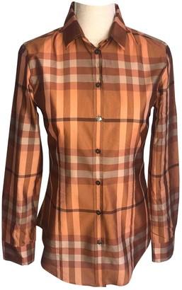 Burberry Orange Top for Women