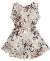 Zimmermann Aerial Floral Frill Hem Dress