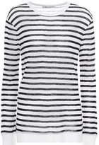 Alexander Wang Striped long-sleeved top