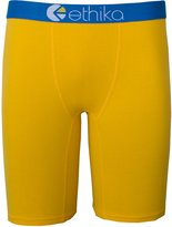 Ethika Men's The Staple Boxer Brief Underwear Golden Yellow M