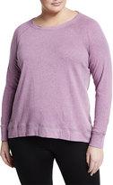 Marc NY Performance Plus Long-Sleeve Back-Zip Sweatshirt, Plus Size