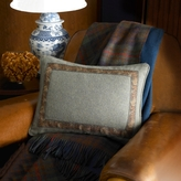 Bedford Hunt Tweed Pillow