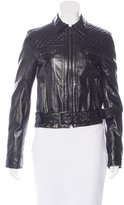 Dolce & Gabbana Quilted Biker Jacket