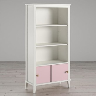 URBAN RESEARCH Monarch Hill Poppy Kids White Bookcase, Pink