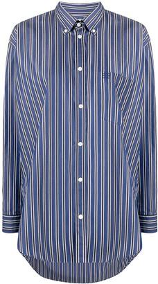 Balenciaga Oversized Striped Shirt