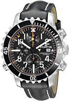 Fortis Men's 673.10.41 L.01 B-42 Marinemaster Chronograph Alarm Chronometer C.O.S.C. Analog Display Automatic Self Wind Black Watch