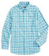 Vineyard Vines Boy's Loblolly Plaid Shirt