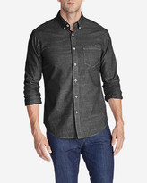 Eddie Bauer Men's Grifton Long-Sleeve Shirt - Solid