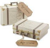 "Kate Aspen Kateaspen 28202NA ""Bon Voyage"" Vintage Suitcase Favor Box, Set of 24"