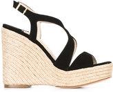 Paloma Barceló contrast braided trim sandals