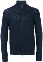 Etro knitted zip cardigan
